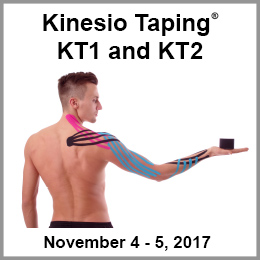 Kinesio Taping KT1 and KT2