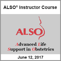 Advanced Life Support in Obstetrics Instructor Course